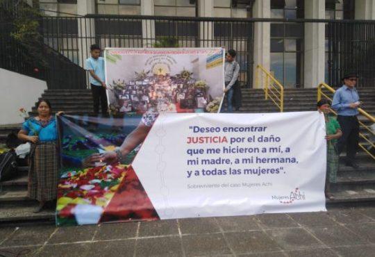 Mujeres Achi: dignidad y resistencia