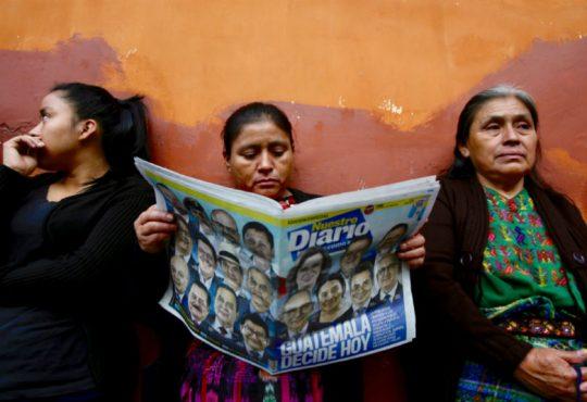 Elecciones en Guatemala (II): ¿Quiénes son las y los candidatos a la presidencia?
