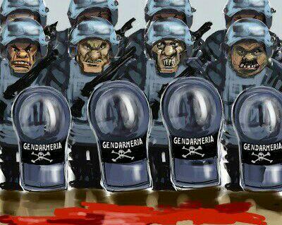 Gendarmería no educa