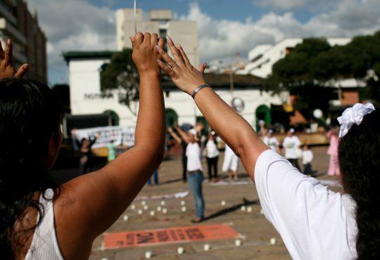 Caravana por la vida. Una apuesta para visibilizar la guerra en Colombia