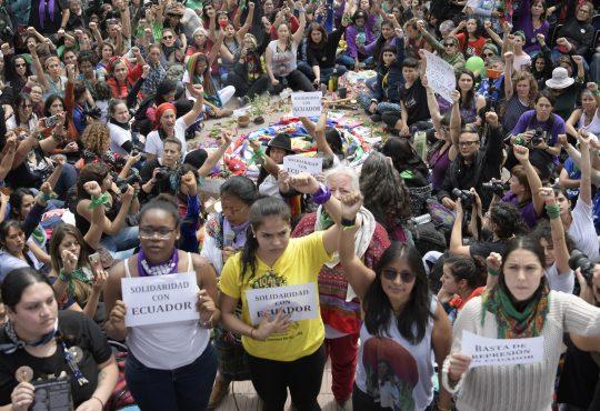 La delegación salvadoreña y feminista en el #34Encuentro