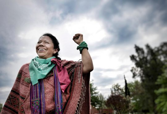 """Lolita Chávez Ixcaquic: """"Reivindicamos el clítoris porque liberamos la esclavitud desde nuestro ser"""""""