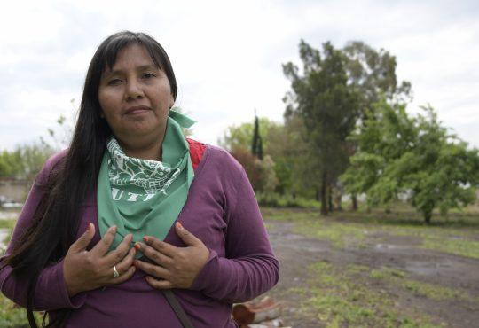 """Bernarda Pesoa: """"Todas somos políticas"""""""