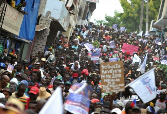 ¿Alguien quiere pensar en Haití?