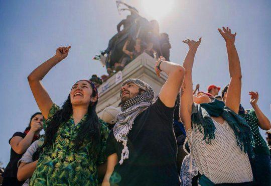 Ni el terrorismo frenará la insurrección del pueblo chileno