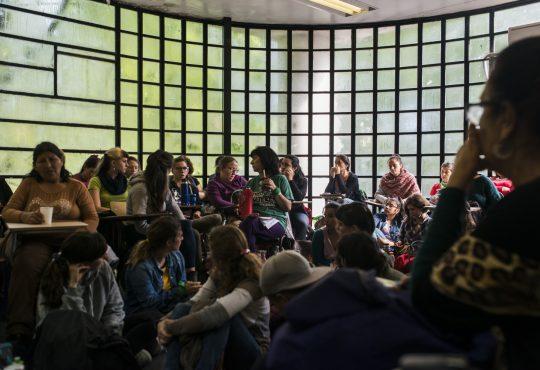 Un taller para ponerle palabras al feminismo popular