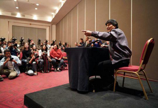 """Evo Morales Ayma: """"El mundo entero está viendo cómo es dar un Golpe de Estado"""""""