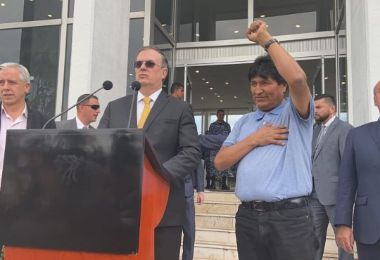 """Evo Morales: """"Si algo de delito tengo es indígena"""""""