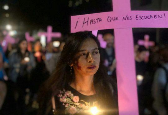 """25N en México: """"Somos el grito de las que ya no están"""""""
