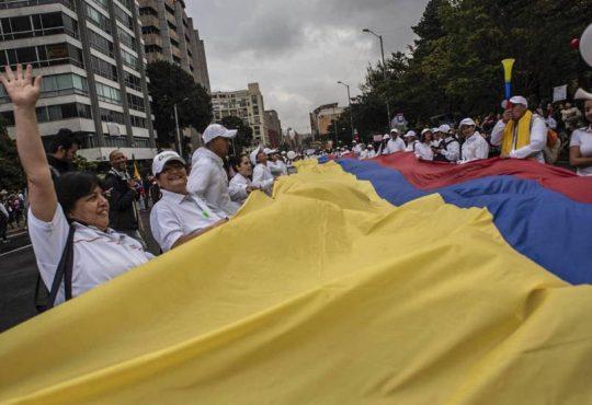 """Paro nacional en Colombia: """"Ya no más"""""""