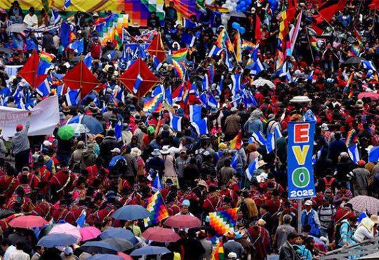 """Evo Morales Ayma: """"Convoco al diálogo de manera urgente"""""""