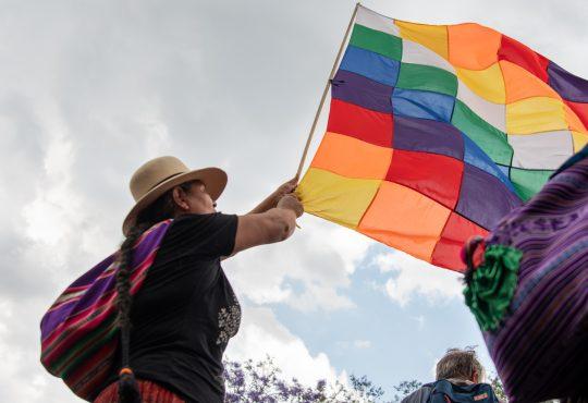 25N: ¡contra la violencia patriarcal, contra el Golpe en Bolivia, por el pueblo chileno y el aborto legal YA!