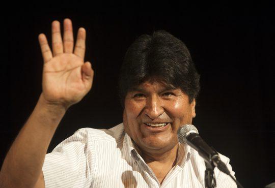"""Evo Morales Ayma: """"Este golpe no es sólo al indio, es al litio"""""""