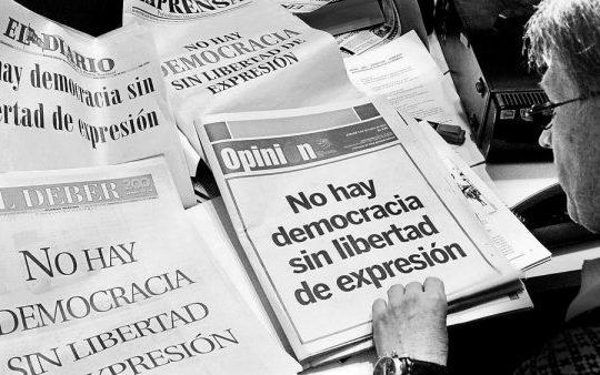 Facundo Molares: preso por cubrir la dictadura en Bolivia