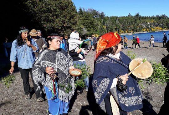 El Pueblo Mapuche realizó una ceremonia de integración intercultural