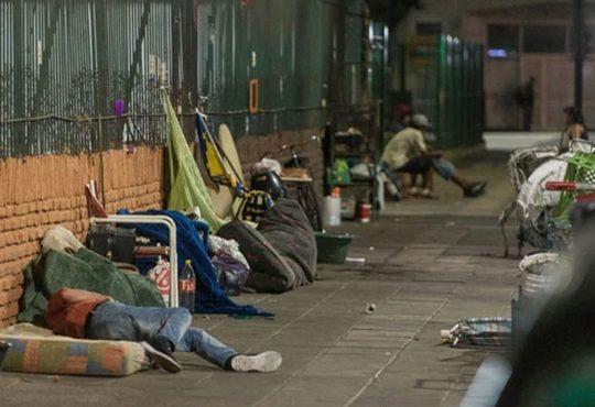 Se realizó el primer censo de personas en situación de calle de zona sur