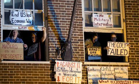 EE.UU: Comienza el juicio contra el Colectivo Protector de la Embajada de Venezuela