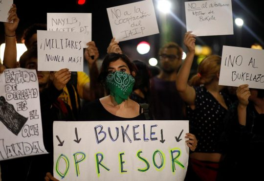 El Salvador: crónica de una insurrección