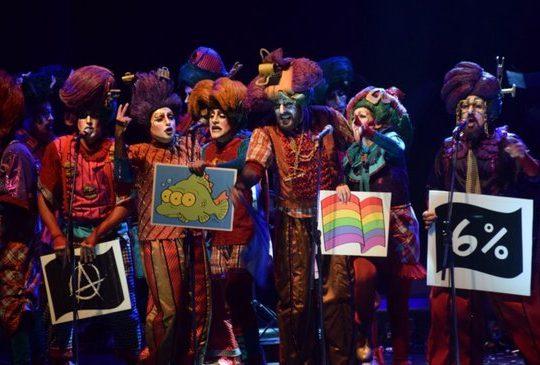 Carnaval 2020: Con cacerolas a Lacalle