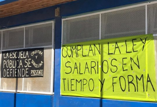 Chubut: docentes y trabajadorxs del Estado gritan no al ajuste