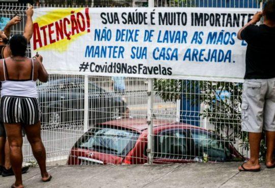 Escasez de agua y solidaridad: favelas brasileñas se enfrentan a la pandemia