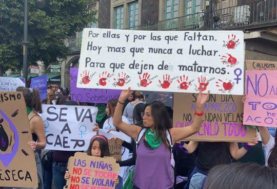 """8M histórico: """"Con su ausencia gritaron su hartazgo a la violencia"""""""
