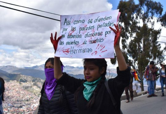 Bolivia: pacos, feminicidios, dictadura e impunidad