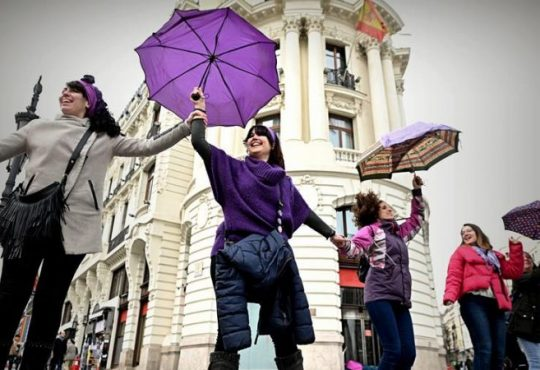 España: Reflexiones feministas en cuarentena post 8M