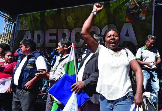 Bolivia: ¡Libertad para la lideresa Elena Flores!