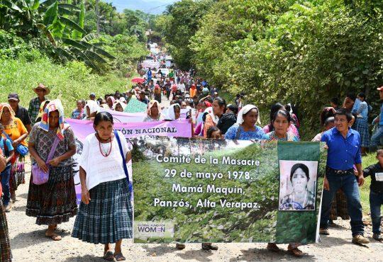 """Guatemala: un """"hasta luego"""" a María Tut, una incansable caminante"""