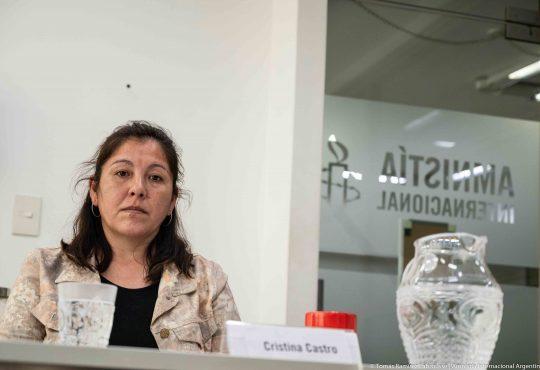 """Cristina Castro a Sergio Berni: """"en vez de estar haciendo show, debería ponerse a trabajar"""""""