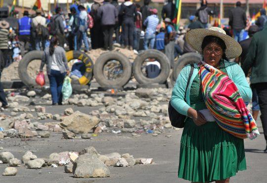 Bolivia: Con el fascismo no se dialoga