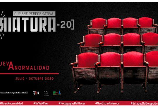LA CRIATURA-20: Cumbre performativa para pensar la #NuevAnormalidad
