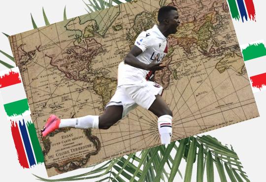 Musa Juwara: gritar un gol después de cruzar el Mediterráneo