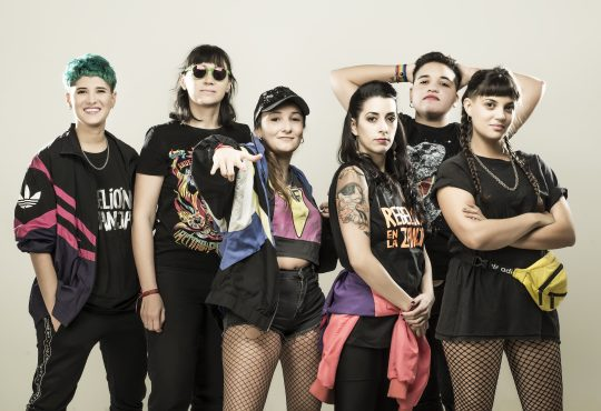 """""""La militancia y el arte van de la mano, creemos que Rebelión es eso: una banda que con sus letras y su música dice lo que piensa"""""""