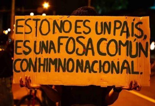 Colombia: No más, el pueblo se respeta