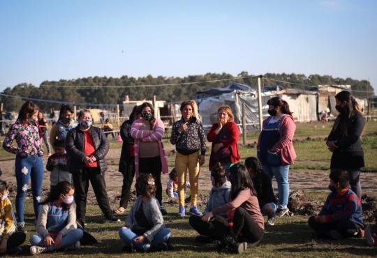 Guernica: una toma, la resistencia y una Asamblea Feminista para la vida digna