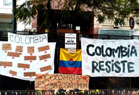 Florecen las voces rebeldes a la muerte: Crónica contra la brutalidad policial en Colombia