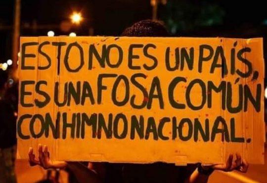 Colombia: Terrorismo de Estado contra el acuerdo de paz