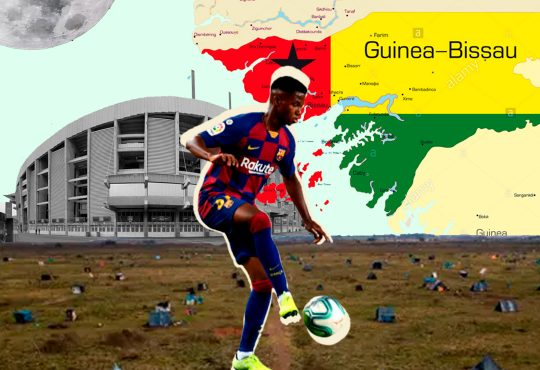 Ansu Fati: Tirando paredes de Barcelona a Guernica