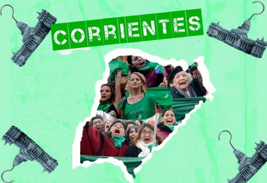 """""""Abortar en Corrientes es abortar con culpa, vergüenza y en soledad"""""""