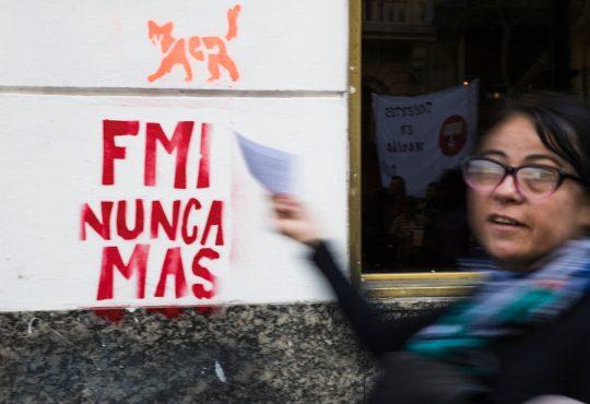 El FMI y la reedición de un acuerdo infame