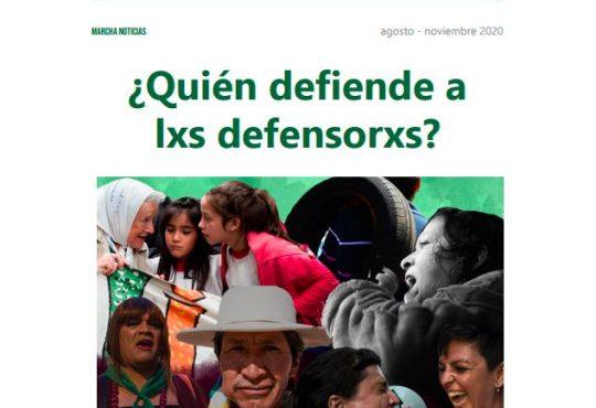 Revista digital – ¿Quién defiende a lxs defensorxs?