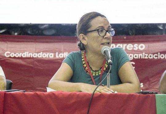 """Nury Martínez: """"No podemos seguir naturalizando lo que pasa en Colombia """""""