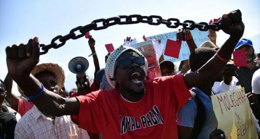 Lo que está en disputa en Haití es la continuidad o no de un régimen proimperialista