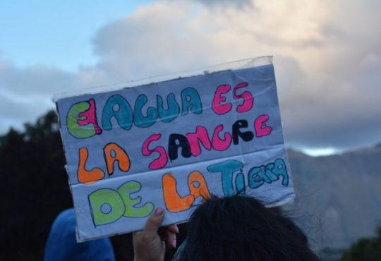 """Marcha Plurinacional por el Agua: """"Caminamos por el agua y para defender la vida"""""""