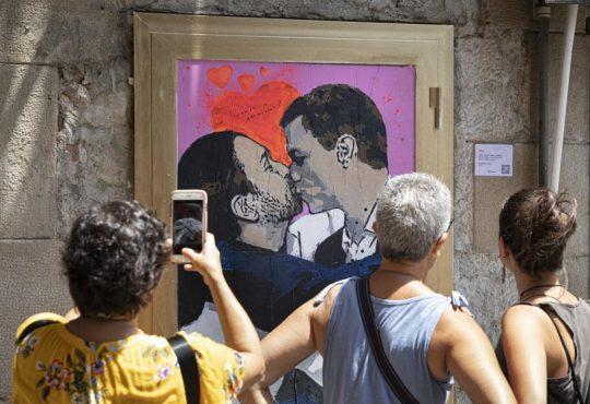 España: Defender Madrid y seguir con el beso