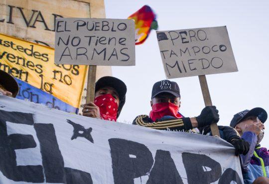 Colombia: una retórica nazi para justificar las masacres