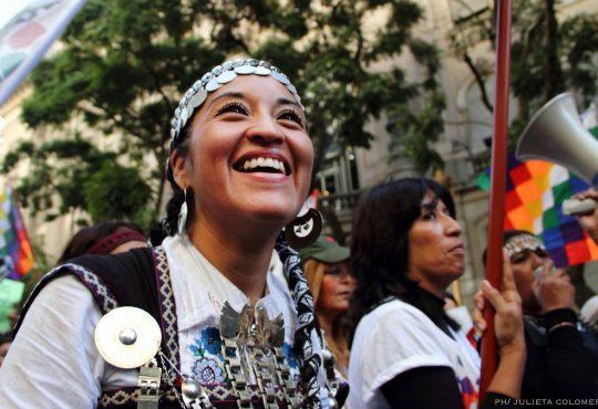 """Moira Millán: """"Resistencia es nuestra lucha contra el terricidio"""""""