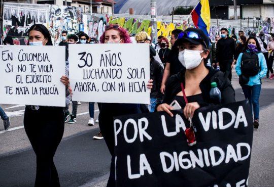 """Lisbeth Montaña, desde Colombia: """"Al uribismo se le cayó la careta"""""""